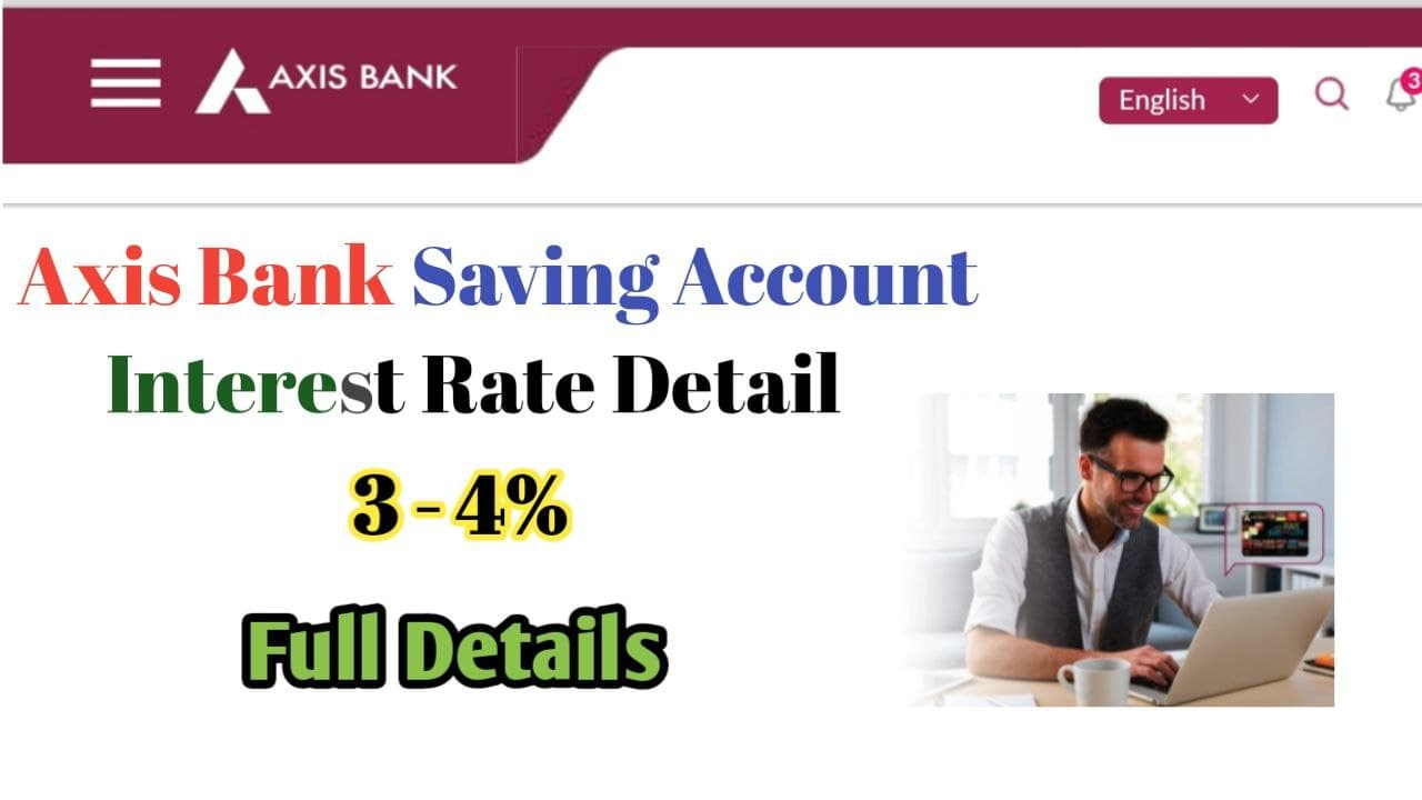 Axis Bank Saving Account interest rate