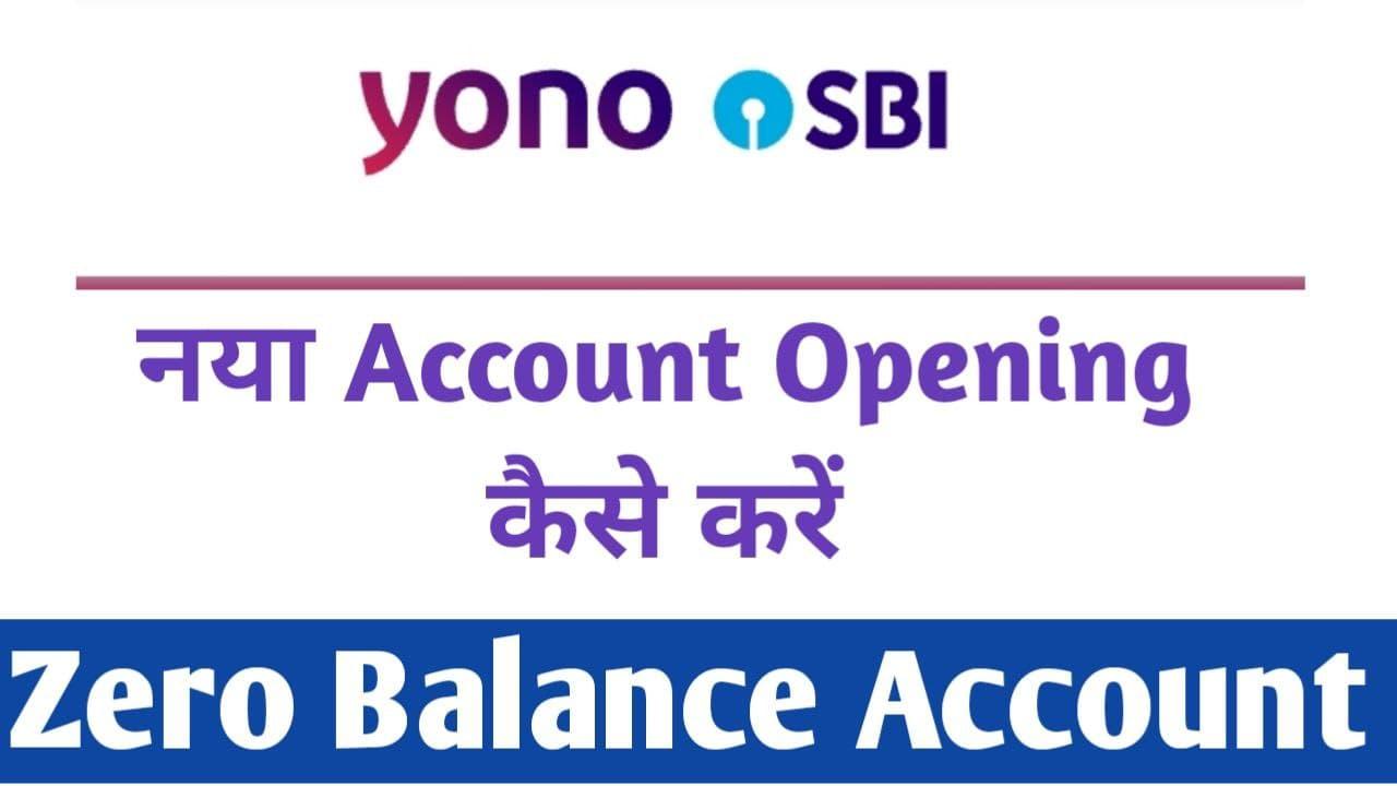 SBI Online Saving Account Opening