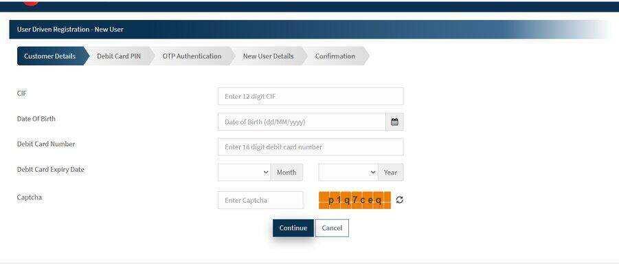 Bandhan Bank Net Banking New User Registration